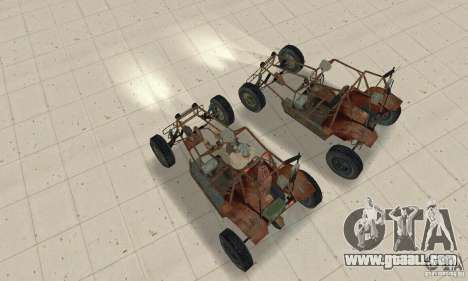 Half-Life Buggy for GTA San Andreas right view