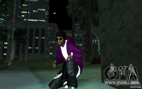 New Ballas for GTA San Andreas second screenshot