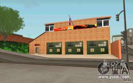 Firehouse for GTA San Andreas