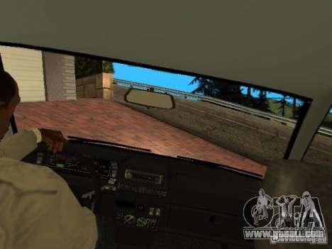 VAZ 2108 Gangsta Edition for GTA San Andreas inner view