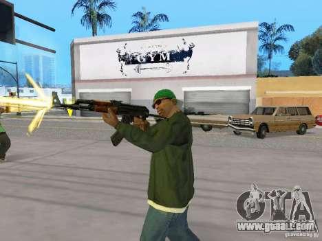 AKC - 47 HD for GTA San Andreas fifth screenshot