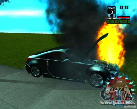 New effects for GTA San Andreas forth screenshot