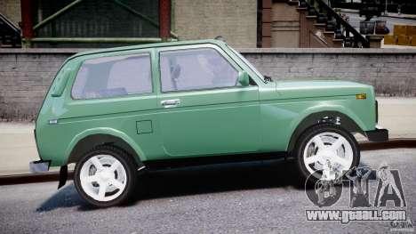 Vaz-21214 Niva (Lada 4 x 4) for GTA 4 upper view