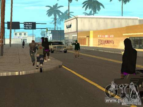 Hatake Kakashi From Naruto for GTA San Andreas fifth screenshot