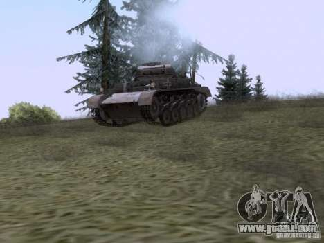 PzKpfw II Ausf.A for GTA San Andreas