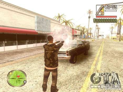 Wild Wild West for GTA San Andreas sixth screenshot