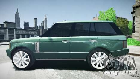 Range Rover Supercharged v1.0 for GTA 4 left view