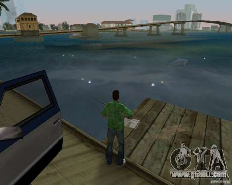 New water, newspapers, leaves, Moon for GTA Vice City ninth screenshot