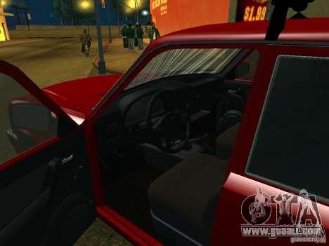 GAZ 3110 for GTA San Andreas back view