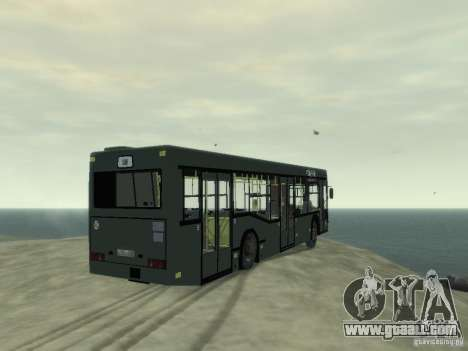 MAZ 103 Bus for GTA 4 right view