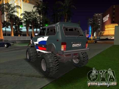 VAZ-21213 4x4 Monster for GTA San Andreas left view