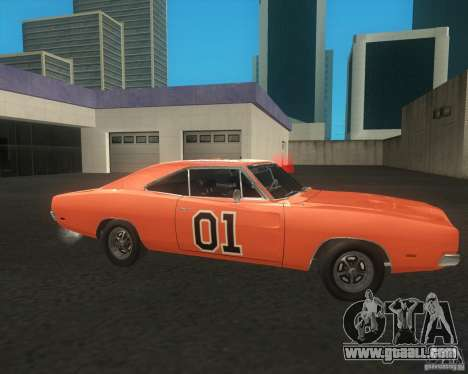 Dodge Charger for GTA San Andreas right view