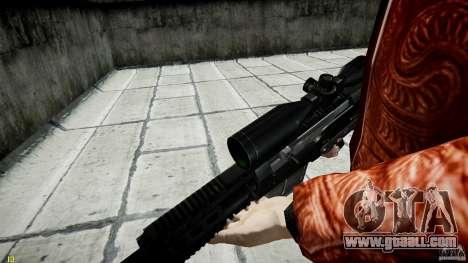 Accuracy International AS50 for GTA 4 eighth screenshot
