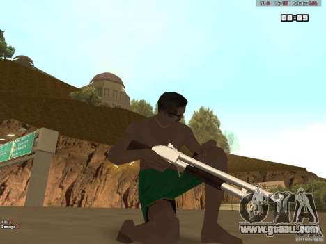 Weapon Pack V1.0 for GTA San Andreas second screenshot