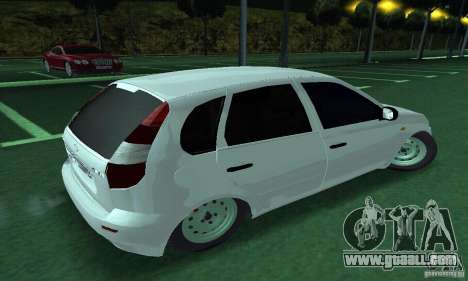 Lada Kalina Hatchback for GTA San Andreas left view