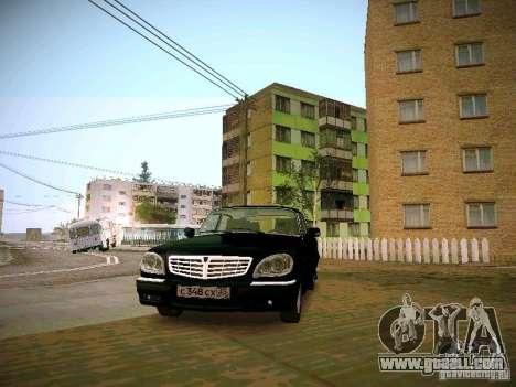 GAZ Volga 31105 S60 for GTA San Andreas back view