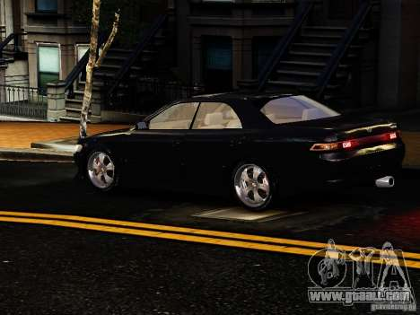 Toyota MARK II 1990 for GTA 4 right view