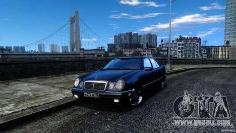 Mercedes-Benz E55 AMG for GTA 4