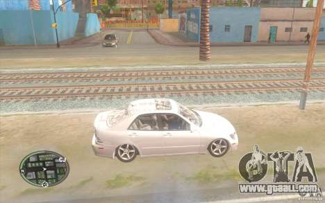 Lexus IS300 Light Tuning for GTA San Andreas left view