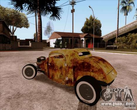 Ford Rat Rod for GTA San Andreas back view