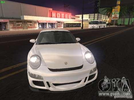 Porsche 911 GT3 for GTA San Andreas back left view