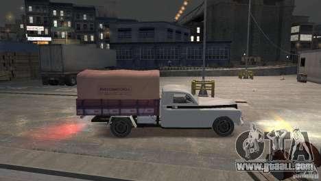 GAZ M20 Pickup for GTA 4 left view
