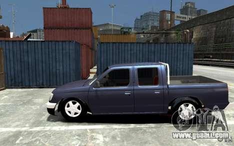 Nissan Pickup V 2005 for GTA 4 left view