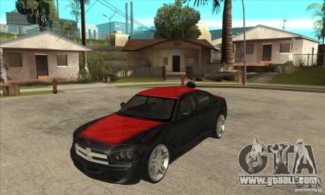Dodge Charger R/T 2006 for GTA San Andreas side view