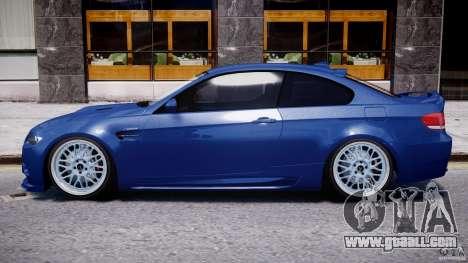 BMW M3 Hamann E92 for GTA 4 back left view