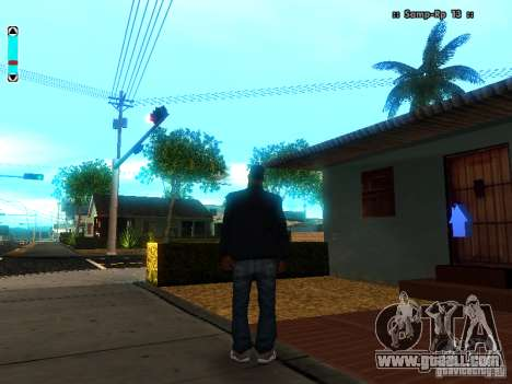 A new interface for SAMP for GTA San Andreas