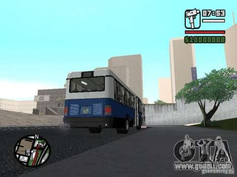Ikarus 415.02 for GTA San Andreas left view