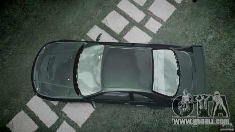 Nissan Skyline R33 for GTA 4 upper view