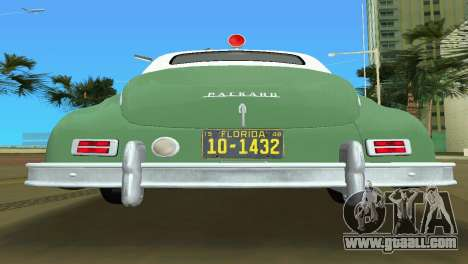 Packard Standard Eight Touring Sedan Police 1948 for GTA Vice City inner view