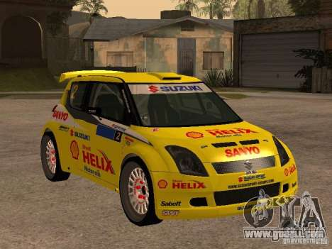 Suzuki Swift Rally for GTA San Andreas