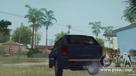 Jeep Grand Cherokee SRT8 2009 for GTA San Andreas left view
