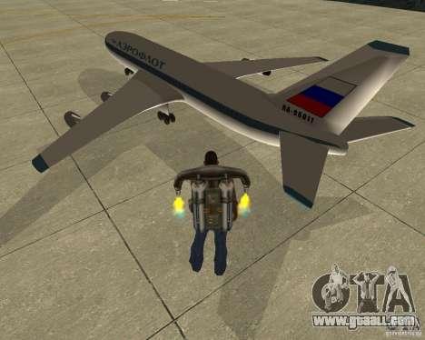 Ilyushin Il-86 for GTA San Andreas left view