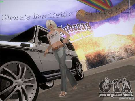 Eloras Realistic Graphics Edit for GTA San Andreas