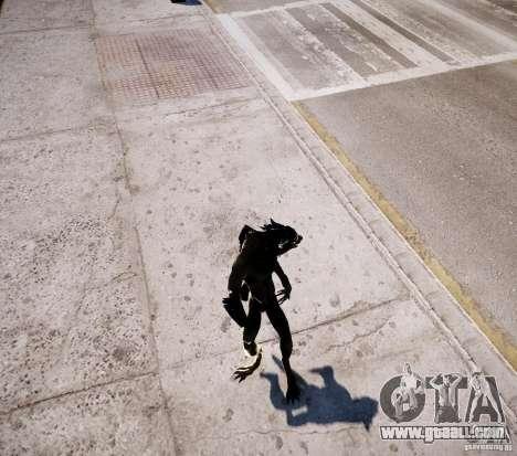 Werewolf from Skyrim for GTA 4 eighth screenshot