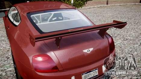 Bentley Continental SS v2.1 for GTA 4 interior
