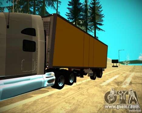 The Trailer Krone Biedra for GTA San Andreas right view