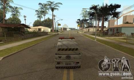 Work Street Sweeper for GTA San Andreas third screenshot