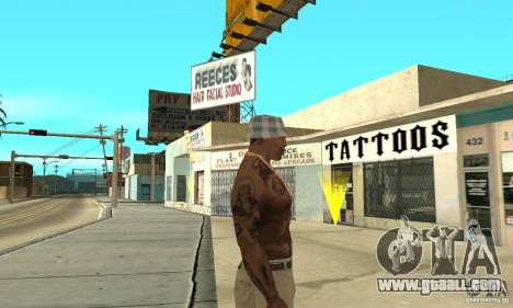 Tattoo mod for GTA San Andreas third screenshot