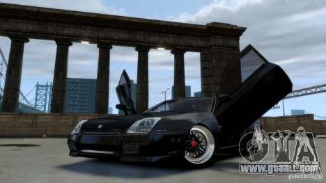 Honda Prelude SiR VERTICAL Lambo Door Kit Carbon for GTA 4