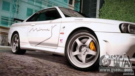 FM3 Wheels Pack for GTA San Andreas sixth screenshot