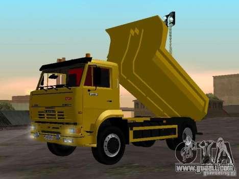 KAMAZ 53605 TAI version 1.1 for GTA San Andreas