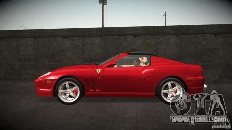 Ferrari 575 Superamerica v2.0 for GTA San Andreas left view