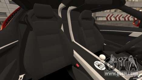 Lamborghini Miura 2006 for GTA 4 inner view