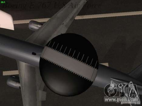 Boeing E-767 U.S Air Force for GTA San Andreas