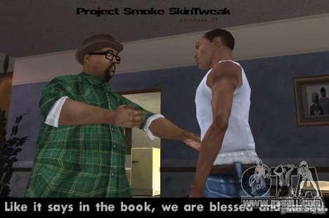 Reteksturizaciâ characters for GTA San Andreas second screenshot