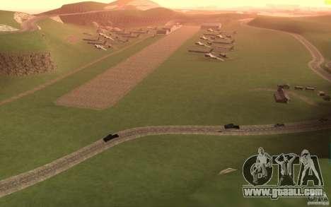 New desert for GTA San Andreas forth screenshot